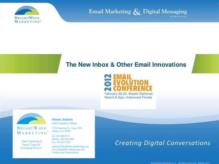 The New Inbox & Other Email Innovations