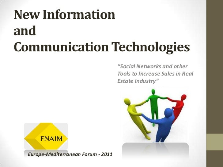 "New Information andCommunication Technologies<br />""Social Networks and other Tools to Increase Sales in Real Estate Indus..."