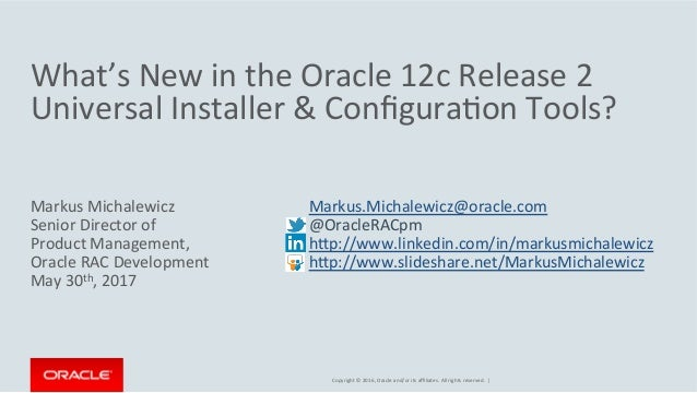 New in Oracle Universal Installer (OUI)