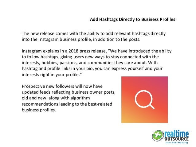 New instagram hashtag feature increases followers and user