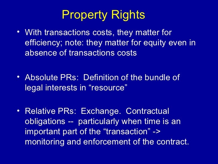 property rights structures and environmental resource The manufactured communities resource center  property rights oregon revised statute  department of environmental quality: water quality division.