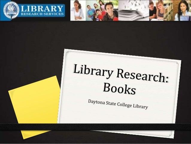 The Library Website 0 http://www.daytonastate.edu/library/