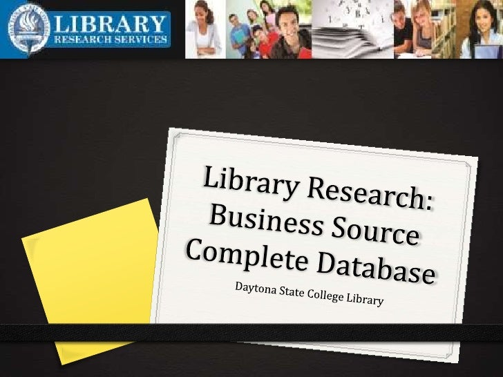 When should I use Business   Source Complete?0 Use Business Source Complete database when you are     looking for articles...
