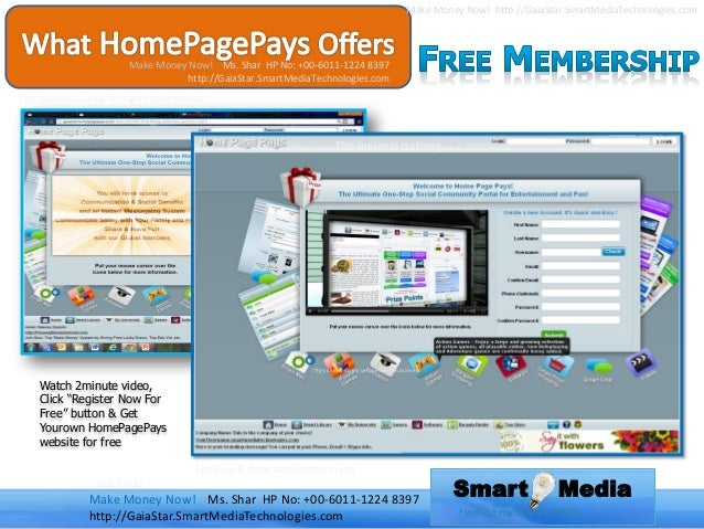New internet social media business opportunity sharing revenue
