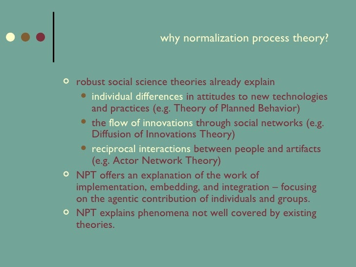 Introduction To Normalization Process Theory border=