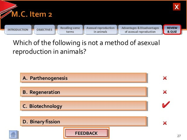 Parthenogenesis and asexual reproduction advantages