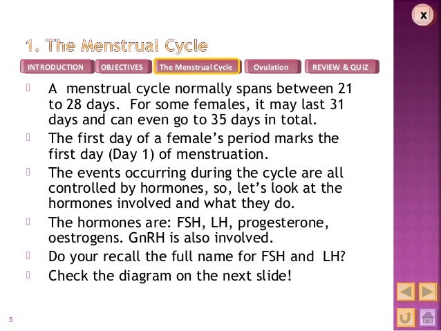 Integrated Scince M3 Menstrual cycle – Menstrual Cycle Worksheet