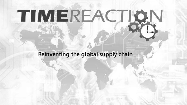 Reinventing the global supply chain