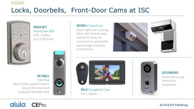 Ultimate Isc West 2018 Guide Security Home Automation