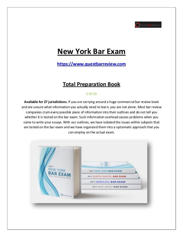 new jersey bar essays Sample answers from recent bar exams booklets of sample answers with the corresponding performance test and essay questions from the most recent bar.
