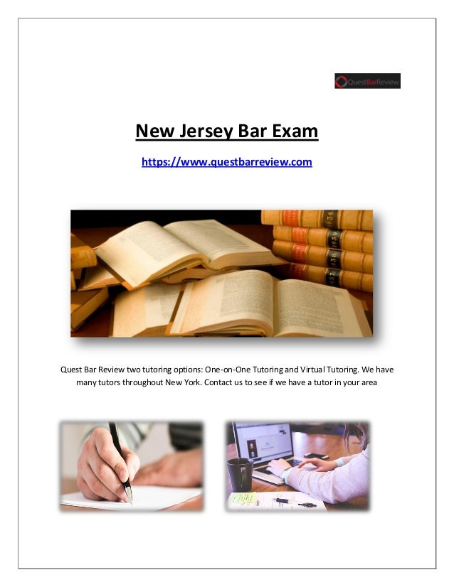 new jersey bar essays The new jersey bar exam consists of the mbe the first day, and the essay portion the second day as the new jersey essay format differs from other state bar exams.