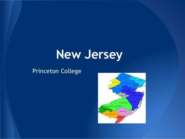 New JerseyPrinceton College