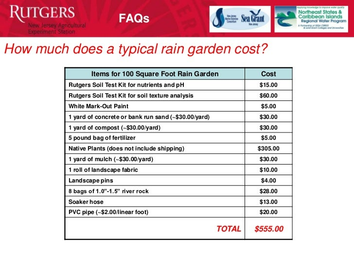 New Jersey Rain Gardens For Beginners Manual