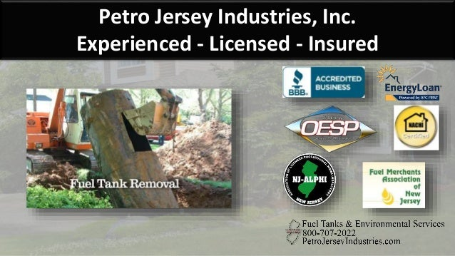 Petro Jersey Industries, Inc. Experienced - Licensed - Insured