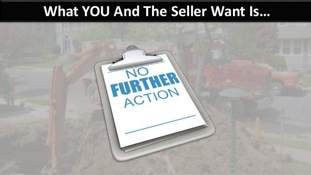 What YOU And The Seller Want Is…