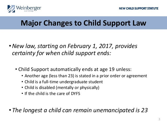 nj child support emancipation papers Other forms of  financial maintenance such as  major changes to new jersey child support laws   emancipation a notice of motion for emancipation.