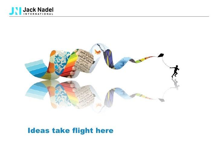 Ideas take flight here