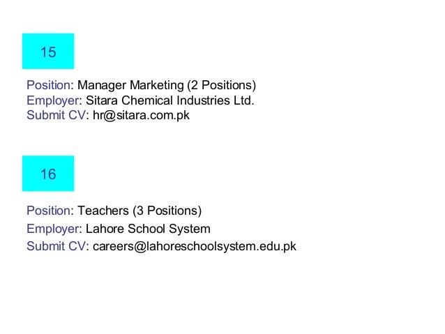 New Jobs [Jan 2014]