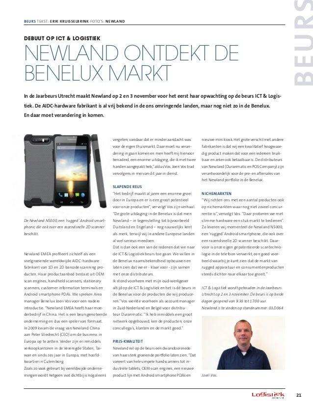 21 Beurs Beurs tekst: Erik Kruisselbrink foto's: Newland nieuwe mini kiosk. Het grote verschil met andere fabrikanten is d...