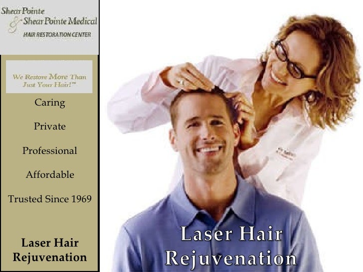 Laser Hair Rejuvenation Caring Private Professional Affordable Trusted Since 1969