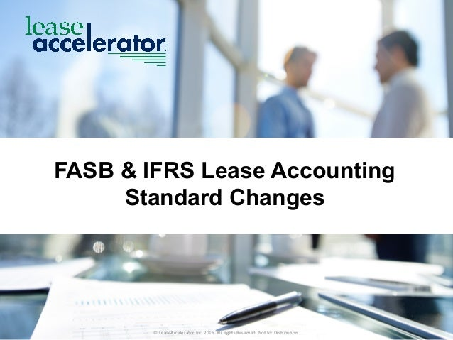 analysis of lease accounting standards Implementing the new lease accounting standards  because of this, moody's  analysis will not change much, but lamonte was quick to point.