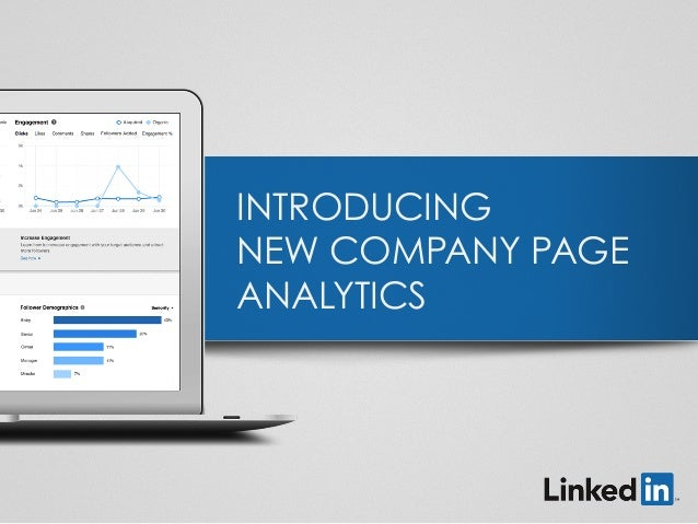 INTRODUCING NEW COMPANY PAGE ANALYTICS