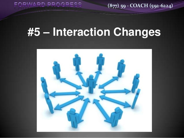 (877) 59 - COACH (592-6224)#5 – Interaction Changes
