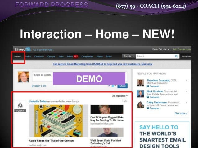 (877) 59 - COACH (592-6224)Interaction – Home – NEW!         DEMO
