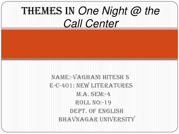 Where can 'One Night at the Call Center' be read in e-book ...