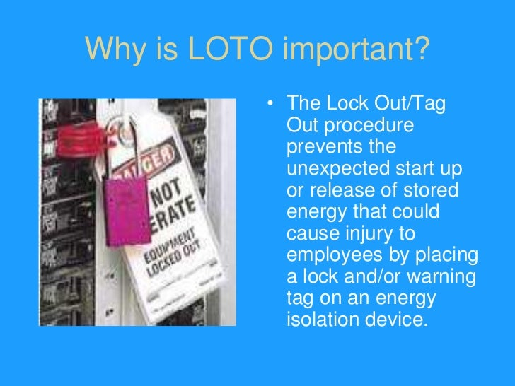 lockout tag out authorized employees training 2