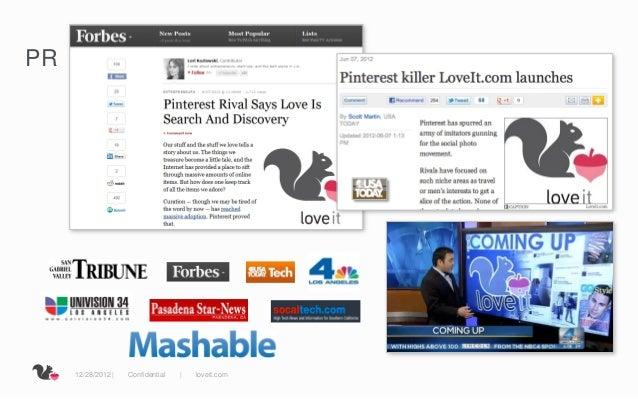 PR     12/28/2012     Confidential       loveit.com