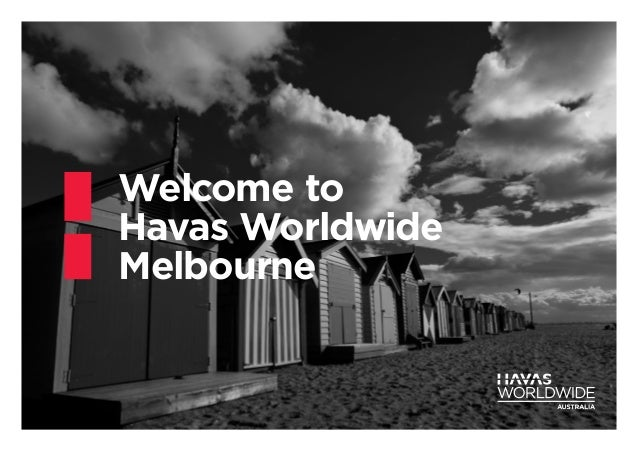 Welcome to Havas Worldwide Melbourne