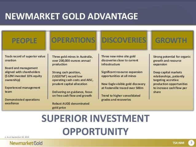 Newmarket gold corporate presentation january 5 2016