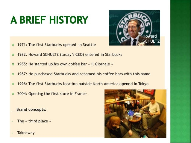 3 marketing opportunities for starbucks The timeline shows data on starbucks corporation's marketing spending in the fiscal years 2011 to 2016 in its fiscal year ending in september 2016, starbucks invested 3787 million us dollars in marketing activities.