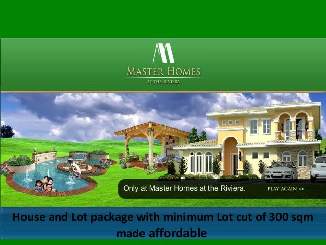 House and Lot package with minimum Lot cut of 300 sqm made affordable House and Lot package with minimum Lot cut of 300 sq...
