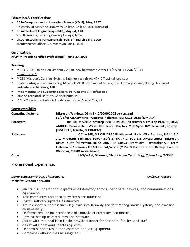 resume nc aix aystem admin researchon web fc2