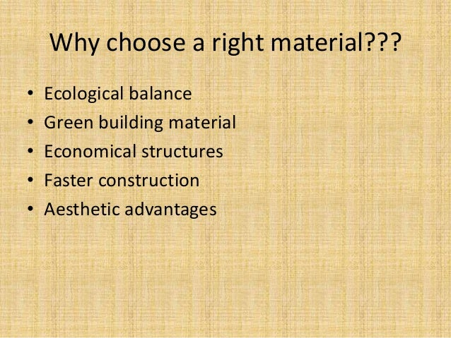 New materials used in building industry Slide 2