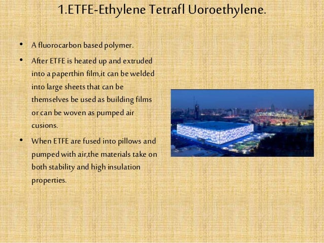 New materials used in building industry Slide 3