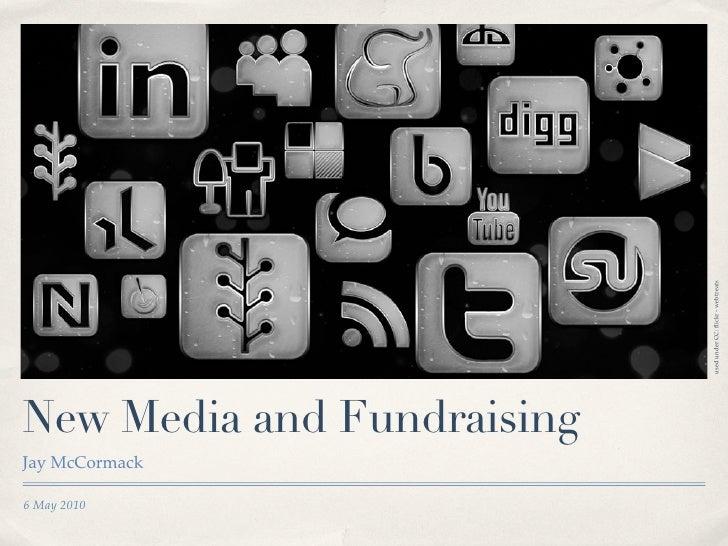 used under CC: flickr - webtreats New Media and Fundraising Jay McCormack  6 May 2010