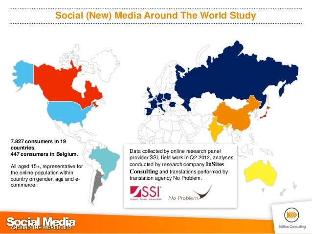 social new media around the world study7827 consumers in 19countries