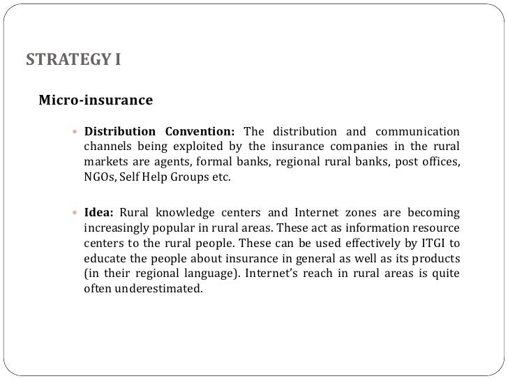 Dissertation proposal for micro insurance distribution channel
