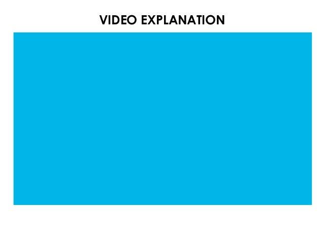 VIDEO EXPLANATION