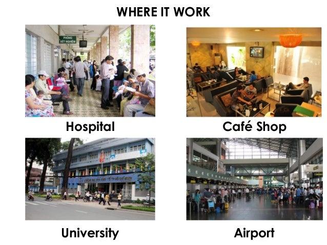 WHERE IT WORK University Hospital Café Shop Airport