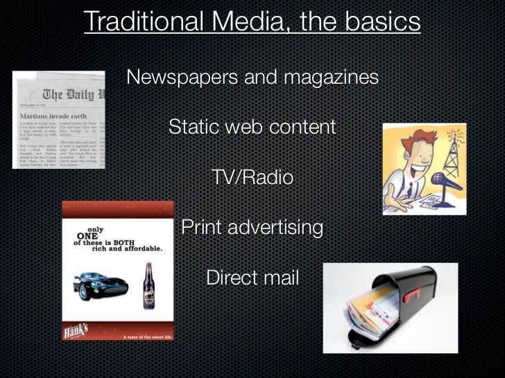 traditional media vs new media If you're having trouble striking a good balance between new and traditional media or could use some advice on what ©absolute marketing group 2018.