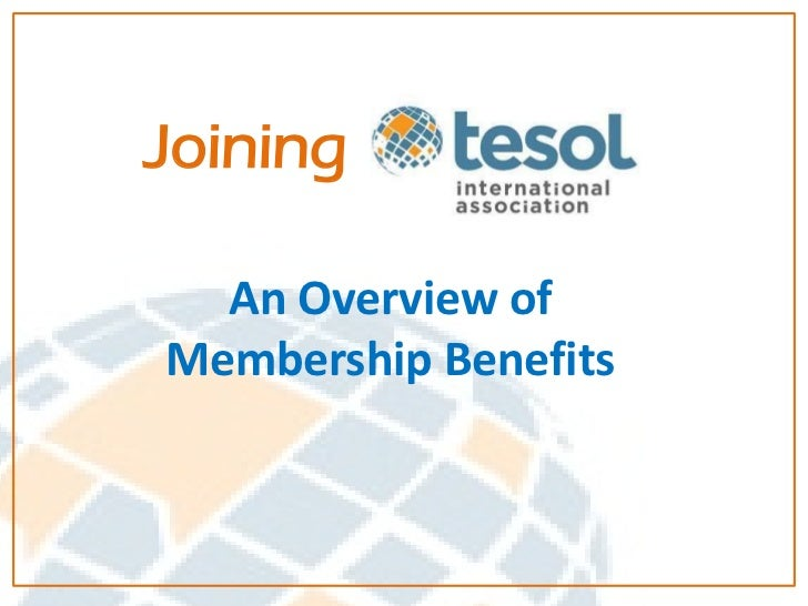 Joining  An Overview ofMembership Benefits