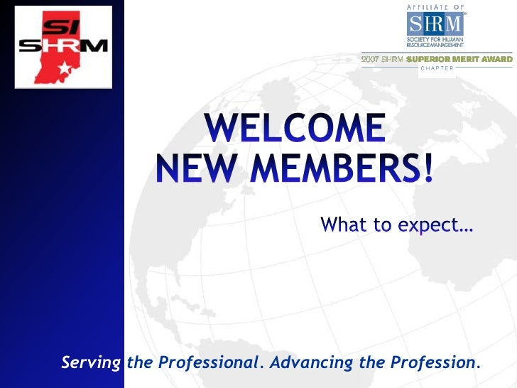 Serving the Professional. Advancing the Profession.