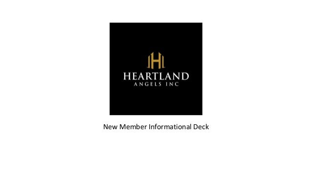 New Member Informational Deck