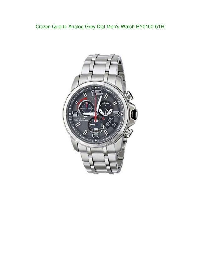 new watches citizen quartz analog grey mens