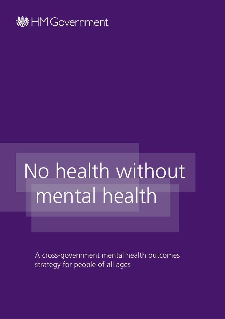 essays on mental health issues
