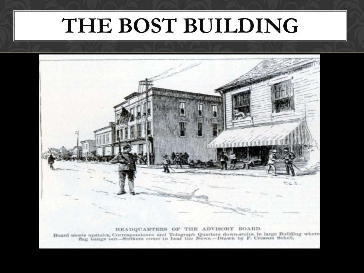 THE BOST BUILDING